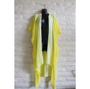 Free People Tops - Free People Angelica Dip Dye Kimono size M/L NWT*